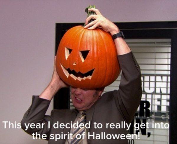 halloween in ufficio